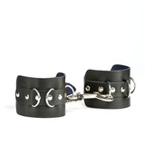 Fetish Hand cuffs made of black leather
