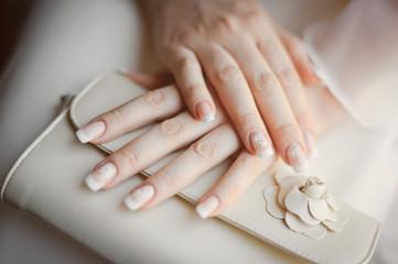 bride's arms