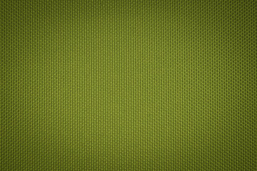 green nylon fabric  texture background.