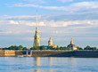 Peter and Paul Fortress and Cathedral. St.-Petersburg, Russia