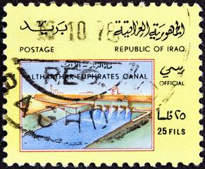 Altharthar Euphrates Canal (Iraq 1978)