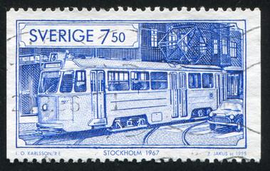 Tram in Stockholm