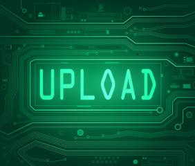 Upload concept.