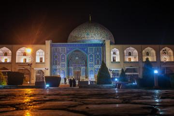 Sheikh Lotfollah Mosque in Isfahan, Iran.