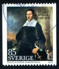 Georg Stiernhielm by David Ehrenstrahl