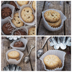 biscuits and forms for baking