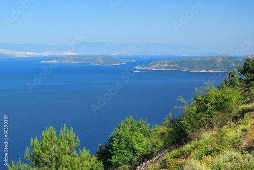 canvas print picture Kvarner Golf - Kvarner Gulf 01