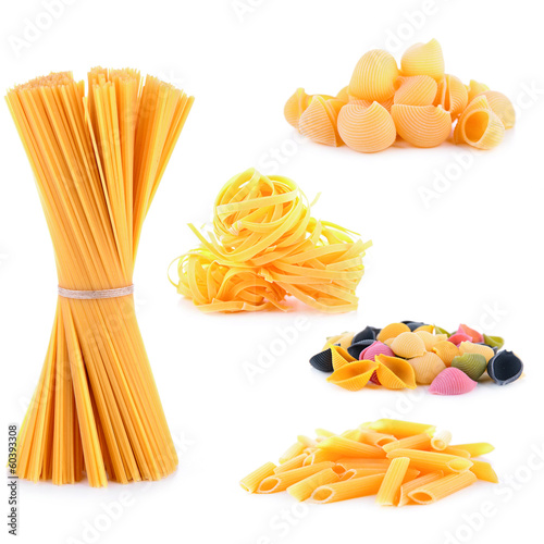 raw pasta collection