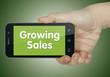 Growing sales. Phone