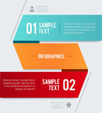 Modern vector design template