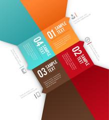 Modern vector design template