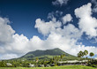 Nevis Peak, A Volcano in the Caribbean