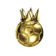 König Fußball - Krone