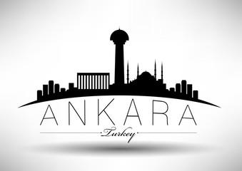 Modern Ankara Skyline Design