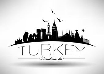 Modern Turkey Skyline Design
