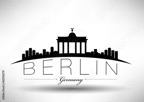 Modern Berlin Skyline Design