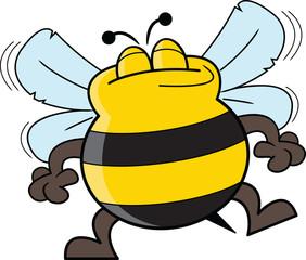 Happy Dancing Bee