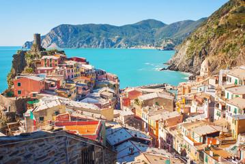 Mediterranean village, Italy