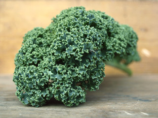 curly kale leave