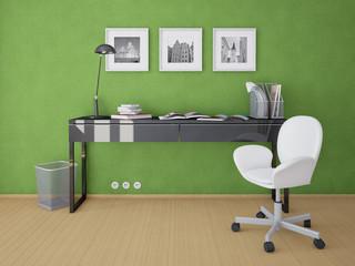 Рабочее место со шведской мебелью