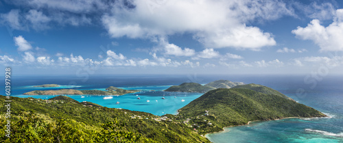 Tuinposter Eiland Virgin Gorda, British Virgin Islands