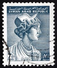 Postage stamp Syria 1963 Queen Zenobia