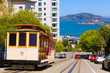 San francisco Hyde Street Cable Car California - 60398767