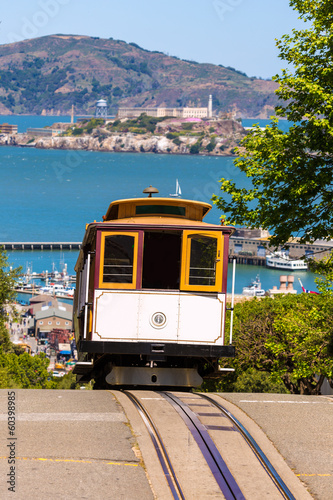 San francisco Hyde Street Cable Car California - 60398985