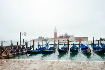 Winter day in Venice, Italy