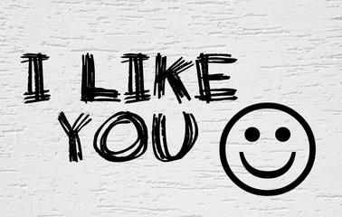 I like you :-)
