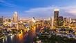 Bangkok city at night - 60400366
