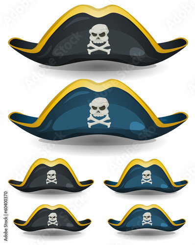 Pirate Hat Set