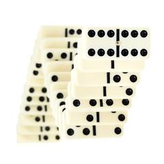 serpentine from dominoes
