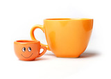 Two funny cups