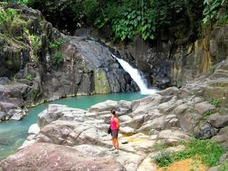 Saut d'acomat, Guadeloupe