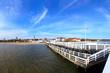 Pier in Sopot, Poland.