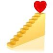 steiler Weg zum Herzen