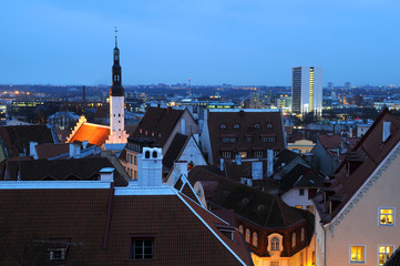 Late Winter Afternoon in Tallinn