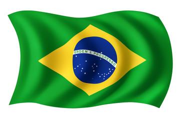 Brazil flag - Brazilian flag
