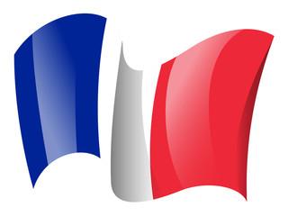 France flag - French flag