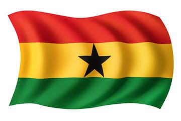 Ghana flag - Ghanaian flag