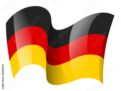 German flag - Germany flag - Deutschland