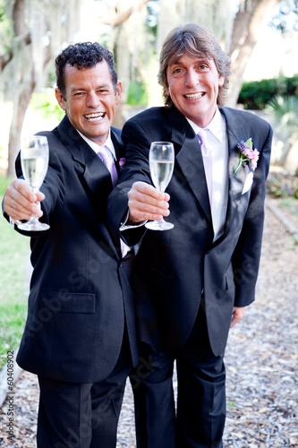Toasting Gay Marriage