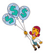 balloon dollar
