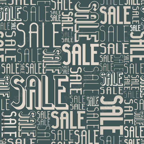 Seamless Sale Display - Pastel