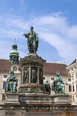 Emperor Franz II, Francis II statue.