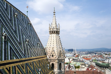 Stephansdom, St. Stephan's Cathedral, Vienna.