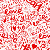 Valentine seamless pattern for your design