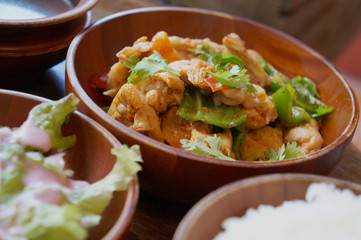 Traditional Bhutanese food