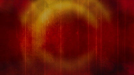 Red Orange Ring Grunge looping animated background